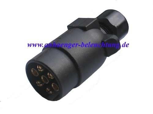 Stecker 7-polig Kunststoff