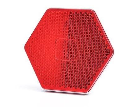 Reflektor Rot, Rückstrahler STAR