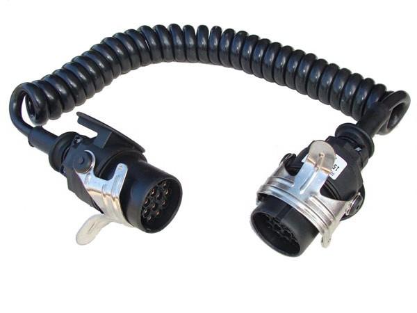 ADR 24 V Spiralleitung 15 Pin, 15 Pol,
