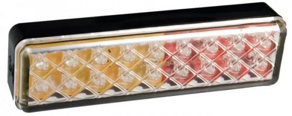 LED Slim-line 3-funktion Rückleuchte für 12V-24V