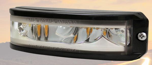 Hawkeye - LED Warnlicht Gelb 10Volt bis 30Volt