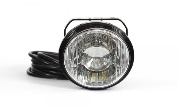 LED Arbeitsleuchte, Licht verteilt