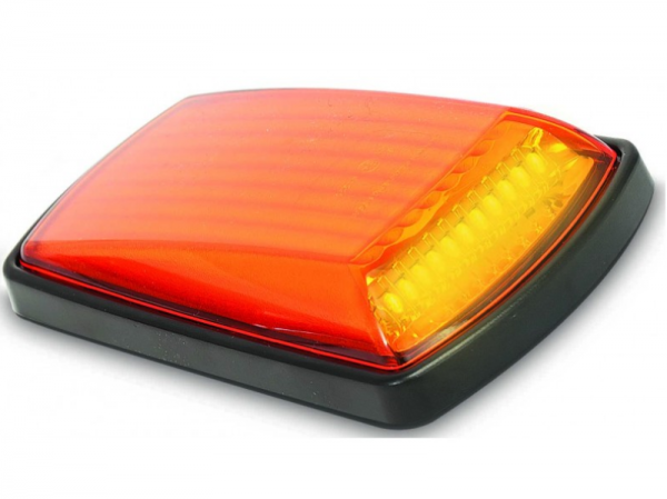 LED Seitenblinker Zusatzblinker Schwarz z.b Krankenwagen