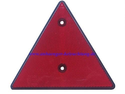 Dreieck Reflektor für Anhänger 140x160mm