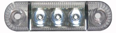 LED Positionsleuchte Weiß: Einsetzbar von 12V bis 24V