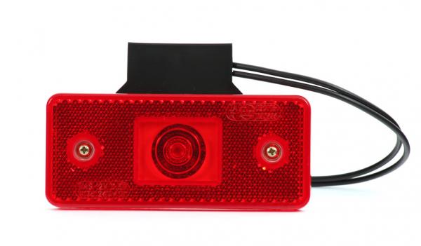 Positionsleuchten Rot LED mit Winkel