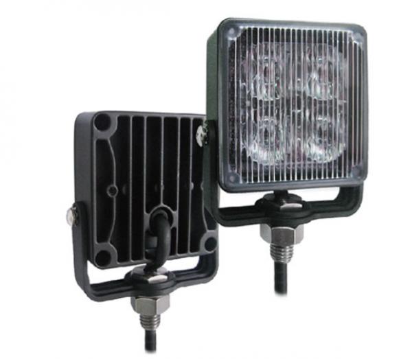 LED Evader Warnlicht, Blitzlicht Blau 12-24 Volt