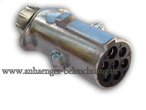 Stecker 24V, 7Pol. mit Kontakthülse Typ N