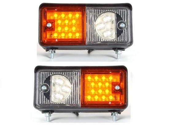 LED Traktor Blink- Positionsleuchten vorne (1Paar)