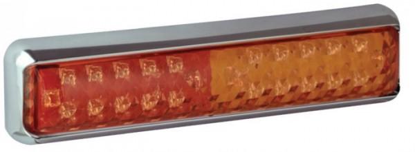 LED Slim 3-funktion Rückleuchte für 12V/24V
