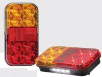 _ LED 3-funktion Leuchte ohne Kenzeichenleuchte 12V