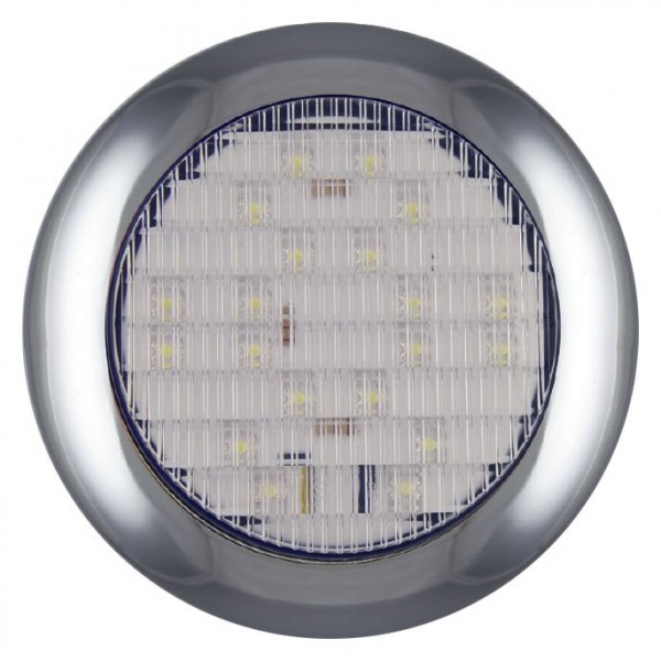 LED Rückfahrleuchte, Rund Oberflächenmontage 12-24 volt