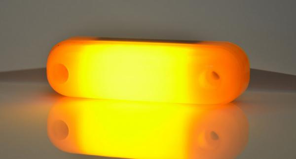 LED Umrißleuchte Neon-Effekt Gelb 12V und 24V