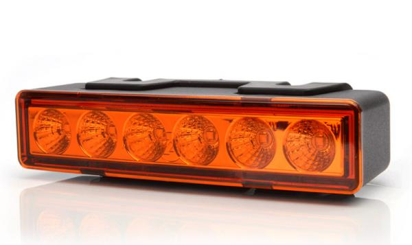 LED Blitzleuchte Gelb 10-33V ECE R65
