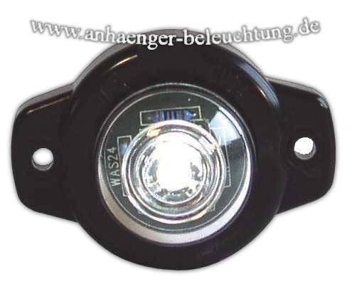 LED Umrissleuchte Weiß Auge 12-24 Volt