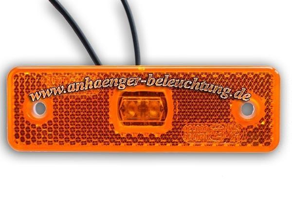 LED Seitenmarkierungsleuchten: Einsetzbar 12V bis 24V