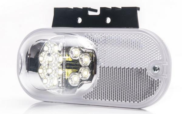 LED Positionsleuchte Weiß 12-24V
