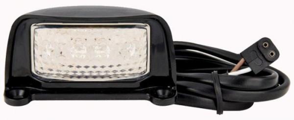 LED Kennzeichenleuchte mit 1m Kabel und Stecker