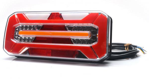 LED NEON Rücklicht Links mit dynamischen Blinker 12-24V