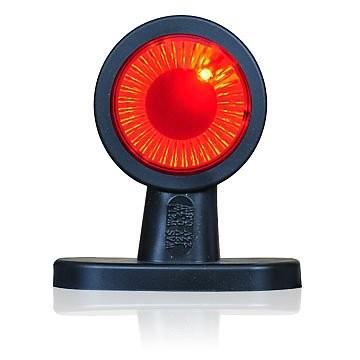 LED Begrenzungsleuchte Gummiarm Lichtleittechnik 12V-24V