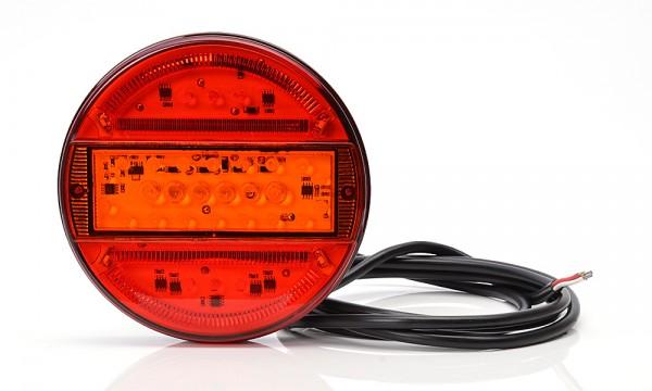 LED 3-Kammer Rücklicht 140mm-SLIM 9V-36V