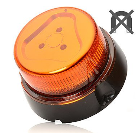 LED -Blitz-, Warnleuchte 10V-32V - 7 Lichtmuster