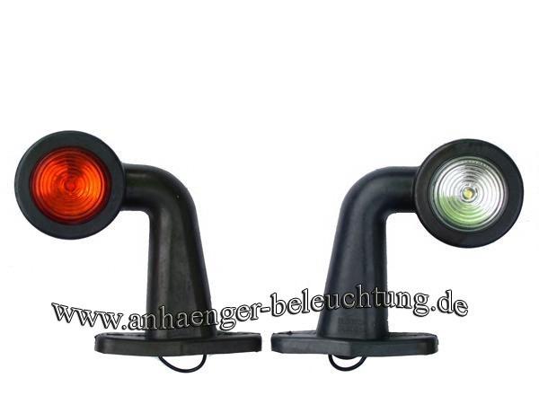 LED Umriß-, Begrenzungsleuchten rot, weiß 12-30V