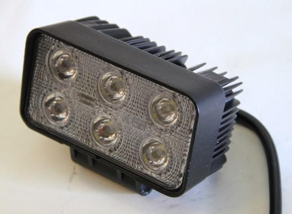 LED Arbeitsscheinwerfer 18W 1200lm