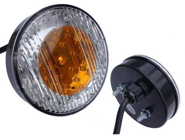 LED 3-Kammer Rücklicht, Bremslicht, Blinklicht 103mm