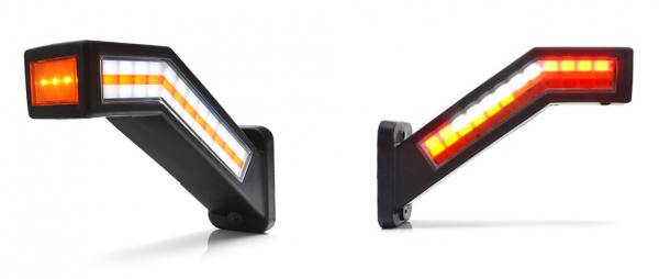 LED Multifunktionsleuchte, Gummiarm! 7 Funktion-Rechts