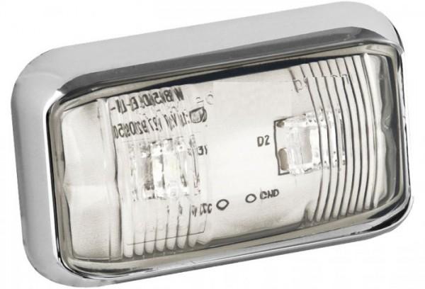 LED Positionsleuchte Umrissleuchte Weiß 12V/24V