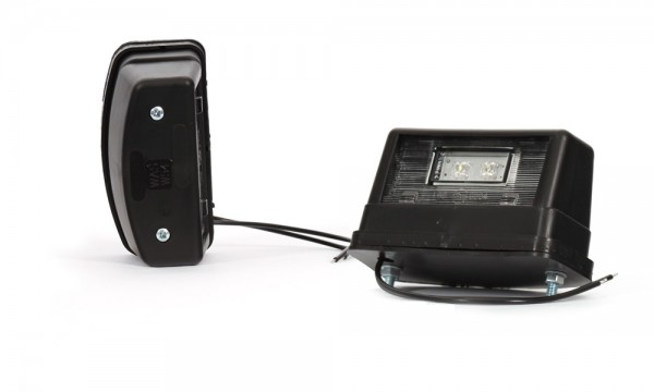 LED Kennzeichenleuchte schwarz