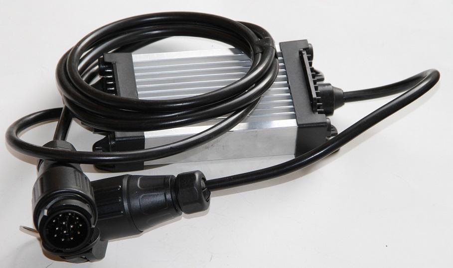led r ckleuchten adapter 12v mit 13 pol stecker anhaenger. Black Bedroom Furniture Sets. Home Design Ideas