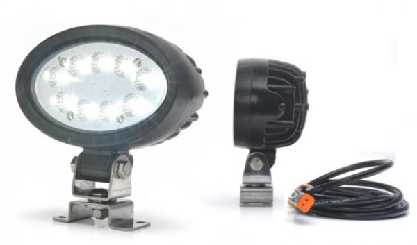 LED Arbeitsleuchte mit Deutsch Stecker 5000 lm 12V-70V