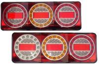 _ LED Rückleuchten für Lkw, Anhänger usw. für 12-30V-1