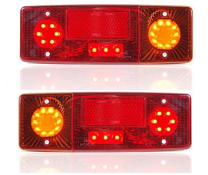 LED Rückleuchten 3-Funktion 12V/24V