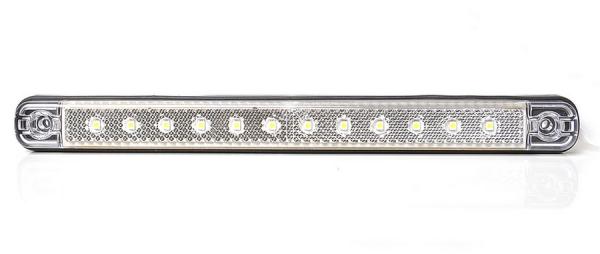 LED Positionslicht vorne mit Reflektor 12-led Weiß