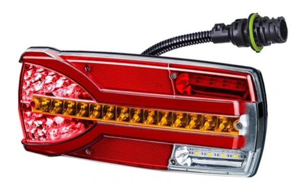 Bajonett LED NEON Heckleuchte L, Blinker Dynamik 12-24V