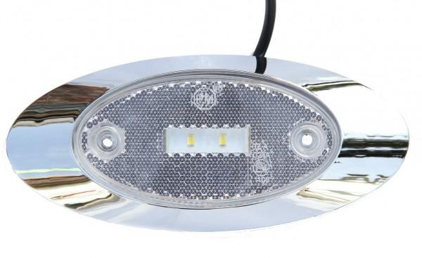 LED Groß Umrissleuchte Weiß 9 - 32V