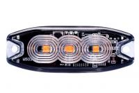 _ LED Blitzlicht, Strobe Blitzer, Warnleuchte Gelb12-24V-1