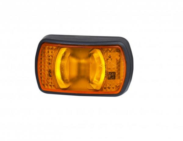 LED Seitenmarkierungsleuchte Gelb 12-24V