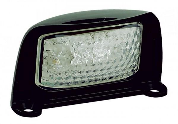 LED Nummernschildbeleuchtung schwarz 12V-24V