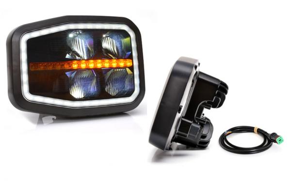 Scheinwerfer, Hauptscheinwerfer LED 6-Funktionen-Links
