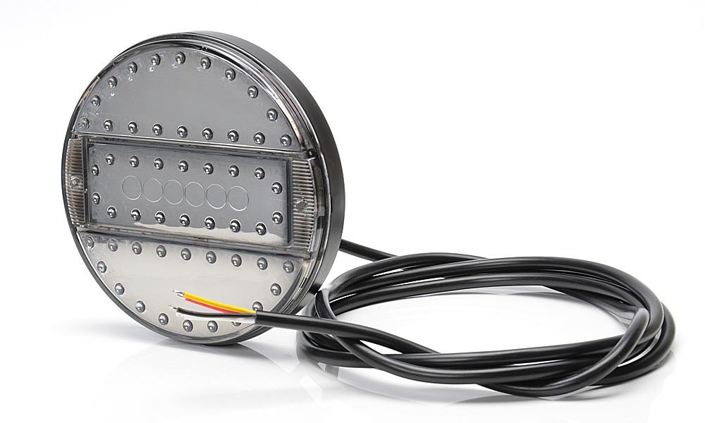 led 3 funktion spiegel leuchte klarglas140mm slim 9v 36v. Black Bedroom Furniture Sets. Home Design Ideas
