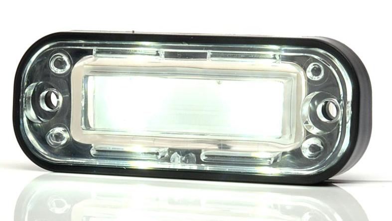 led kennzeichenleuchte einbauleuchte 12 24v anhaenger beleuchtung. Black Bedroom Furniture Sets. Home Design Ideas