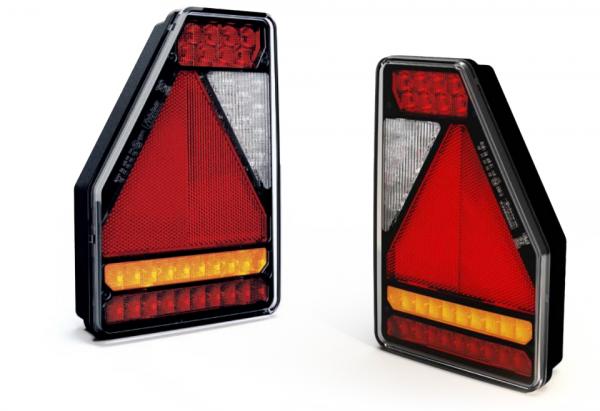 LED Dreieckige Bajonett 6PIN Rückleuchten 12Volt