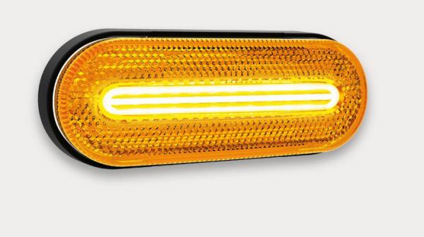 LED Seitenmarkierungsleuchte, Blinker Funktion 12-36V