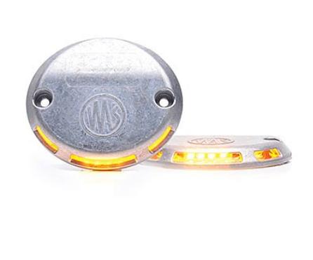 LED Warnleuchte für Hebebühnen, Laderampe, Lkw 12V-24V